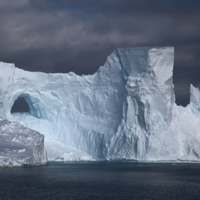 A weathered iceberg in the Weddell Sea