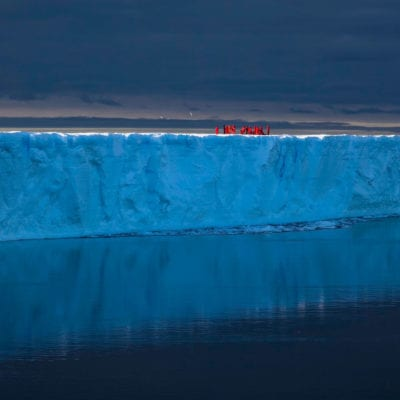 Frank Rodel Antarctica An Evening on the Shelf Ice