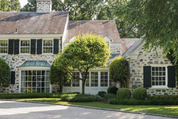 Chestnut Hill Colonial Revival before    at
